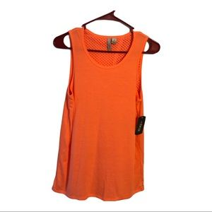 BCG Women Athletic Lifestyle Bright Coral Tank Top